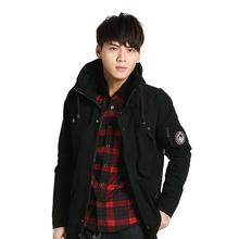 梦幻潮酷梳织外套(黑)