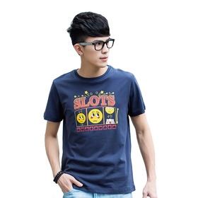 游戏表情短袖T恤-#17老虎机
