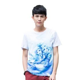 梦幻短袖T恤-翱翔天际