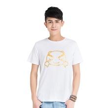游戏表情#80短袖T恤(白)