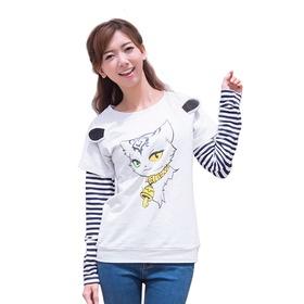 梦幻西游长袖T恤-猫灵