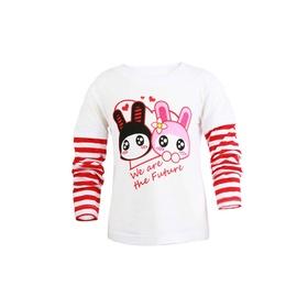 游戏表情童装长袖T恤-萌兔Baby