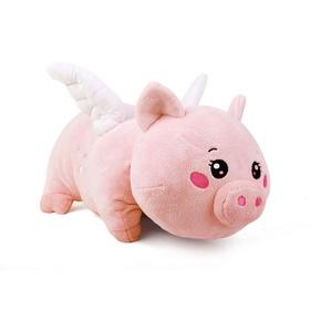 梦幻西游祥瑞变形抱枕-飞天猪猪