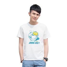 游戏表情短袖T恤-夏日戏水