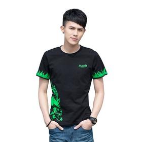 梦幻短袖T恤-狂豹(荧光款)
