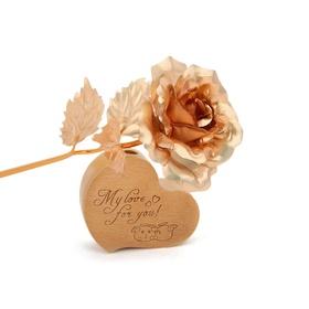 游戏印象金箔玫瑰花