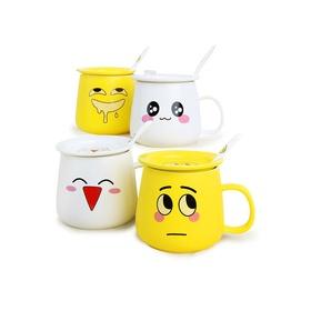 游戏表情创意陶瓷杯四件套