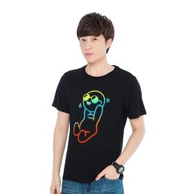 游戏表情#28短袖T恤-恶作剧