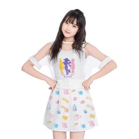 梦幻西游短袖罩衫背心短裙三件套-侠女团