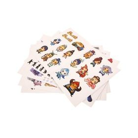 梦幻西游主角人物贴纸五件套