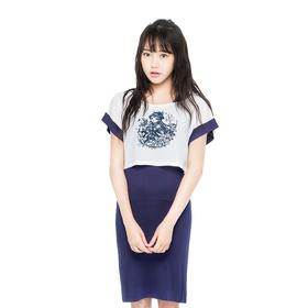 梦幻西游短袖T恤背心裙两件套-巫蛮儿