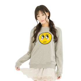 游戏表情#17长袖卫衣(女款)