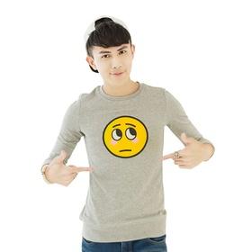 游戏表情#17长袖卫衣(男款)