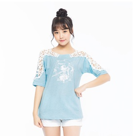 大话2短袖T恤-燕山雪