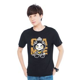 游戏表情#80短袖T恤-棒球小子