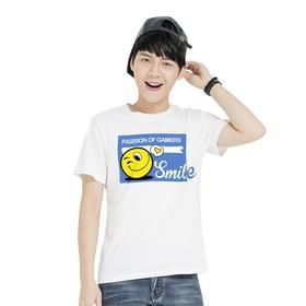 游戏表情#2短袖T恤-微笑达人