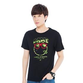 游戏表情#146短袖T恤-黑客帝国