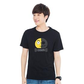 游戏表情#24短袖T恤-勇闯难关