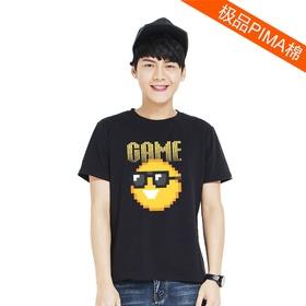 表情#28短袖Pima棉T恤-像素大战