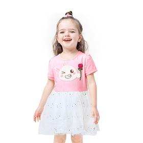 游戏表情#145童装短袖连衣裙