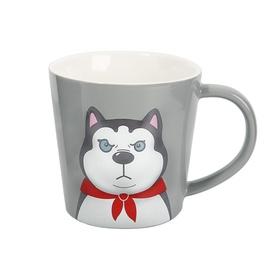 倩女陶瓷马克杯-哈士奇