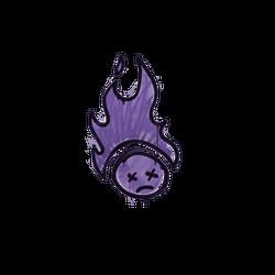 封装的涂鸦   烤焦 (暗紫)
