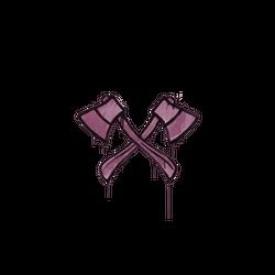 封装的涂鸦 | 双斧 (酱紫)