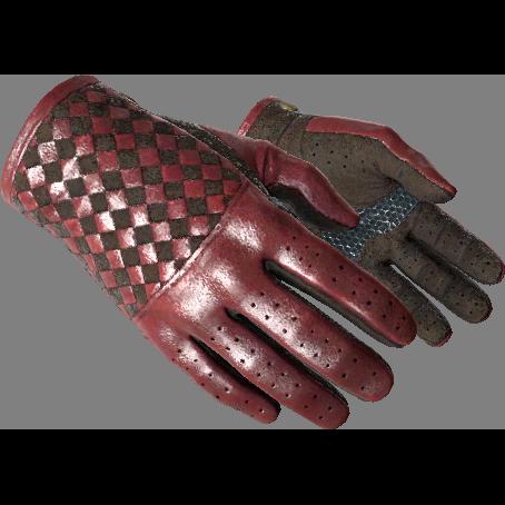 驾驶手套(★) | 深红织物