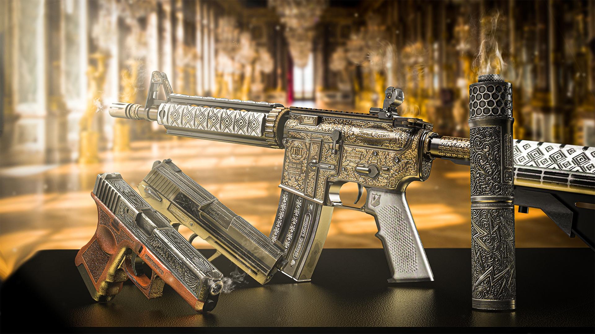 CSGO皮肤鉴赏:M4A4 | 皇家圣骑士