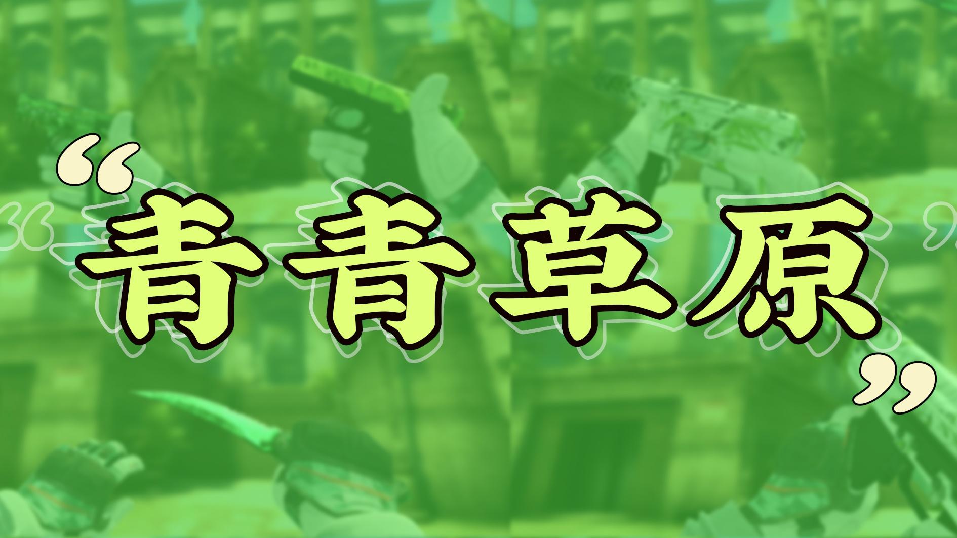 皮肤搭配指南:青青草原